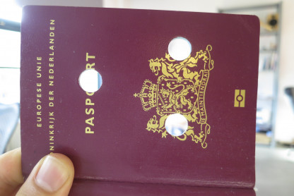 Destroyed passport