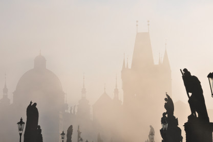 Photo credit: Prague at sunrise, Sebastien on Unsplash